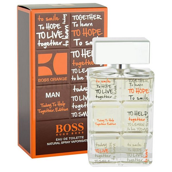 Hugo Boss Boss Orange for Man Charity Edition